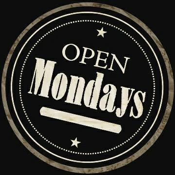 Now Open Monday Nights